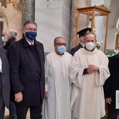 Mons. Felice Bacco  e  Don Nicola Caputo