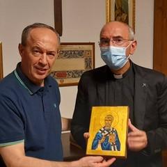 Mons. Gianni Massaro e Don Felice Bacco