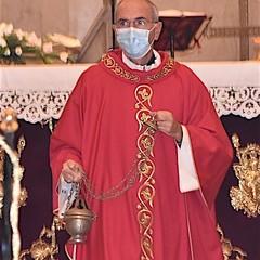 Mons. Giovanni Massaro alla celebrazione liturgica dell'Esaltazione della Croce