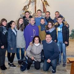 Don Nicola  Caputo con i  Parrocchiani