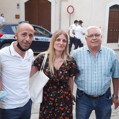 Famiglia Liso con Don Felice Bacco
