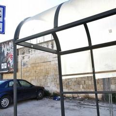 Canosa: pensiline aree sosta dei bus delle Autolinee Marino