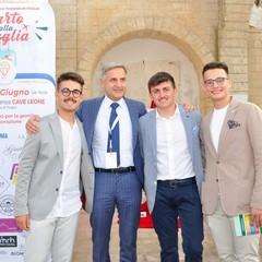 M.Lenoci, N. Sciannamea e G. Bucci, dott.Sergio Fontana