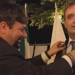 Passaggio del Martelletto  Presidenti Marco Tullio Milanese e Andrea Pugliese