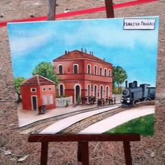 """Canosa: """"La stazione"""" di Francesca Paulucci"""