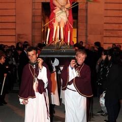 Canosa Venerdì Santo:Processione dei Misteri Gesù incoronato di spine