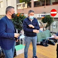 FRANCESCO VENTOLA-GAETANO NESTA E PINO GRISORIO A CANOSA DI PUGLIA