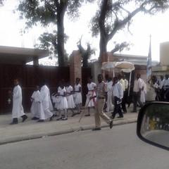 2013 Haiti Processione Corpus Domini