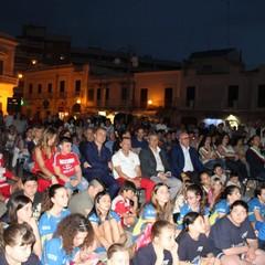 Pubblico  Festa Sansonna a Canosa