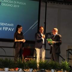 FIPAV Danilo Piscopo, Stefania Sansonna e Paolo Pinnelli