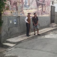 Street Art: Francesco Persichella, in arte Piskv e Maestro Peppino Di Nunno