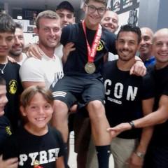 Boxe grande festa per Danilo  Mastrorillo a Canosa