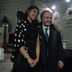 Kiana Reid e  M° Pasquale Iannone