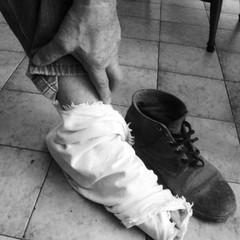 Le pezze da piedi