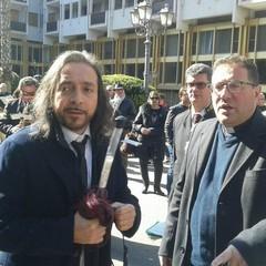 M° Giuseppe Lentini e Don Carmine Catalano a Taranto