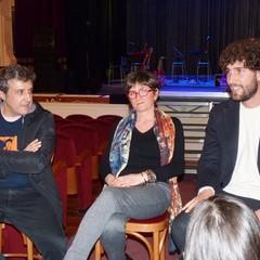 Gioacchino Leone, Mara Gerardi e Flavio Insinna a Canosa di Puglia