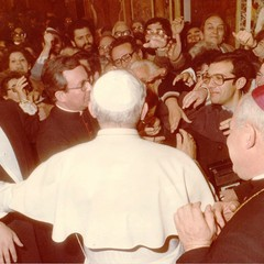 Il maestro Peppino Di Nunno incontra Papa Giovanni Paolo II