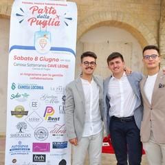 "Premio Diomede Giovani : M. Lenoci, N. Sciannamea, G. Bucci, start up ""MYT"""