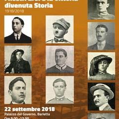 """Mostra """"1918/2018 I nostri Eroi e la Vittoria divenuta Storia"""""""