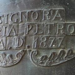 Maria Petroni. campana