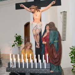 Canosa: Gesù Crocifisso sul Calvario