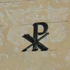 Monogramma di Cristo nel Camposanto di Canosa