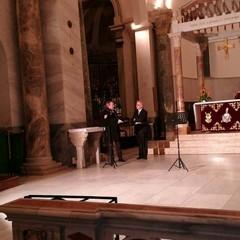 Mons. Felice Bacco e M° Emanuele Buonvino
