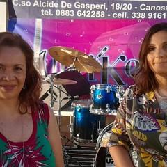 Presentatrici Lisa Lafaenza e Rossella Nardò