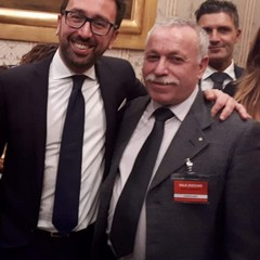 NICOLA DI NICOLI CON ALFONSO BONAFEDE EX MINISTRO GIUSTIZIA
