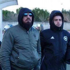 Il presidente Danilo  Quarto e Giuseppe Sguera United Sly FC Bari