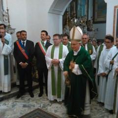 Benedizione di Mons.Mansi