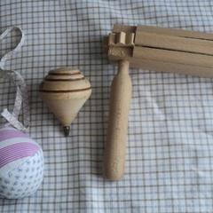 Parapalla, trottola e raganella- Archivio Maestro Di Nunno