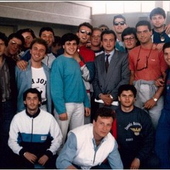 Pietro Mennea-Riccardo Piccolo  all'ISEF Foggia