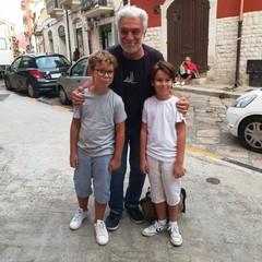 Francesco Porfido con Lorenzo Accetta e Flavio Di Muro