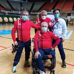Mimmo Porro Arcieri Sud Barletta Campionato Italiano Indoor Para-Archery