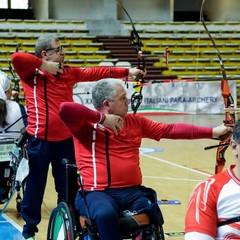 2021 Mimmo Porro al Campionato Italiano Indoor Para-Archery