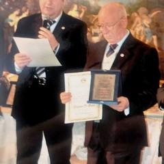 La Pro Loco Canosa premia Stefano Di Biase Socio Onorario
