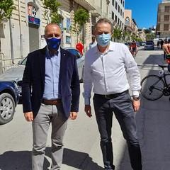 Cordiano Dagnoni e Tommaso Depalma a Canosa