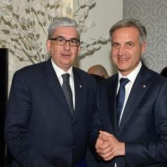 Presidenti Vito Tisci e Sergio Fontana