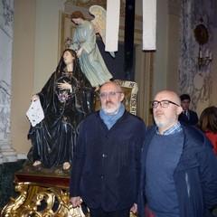 Facies Passionis 2020-Taranto: Lepoldo Vitale e Giovanni Schinaia