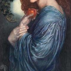 Proserpina del Pittore Rossetti