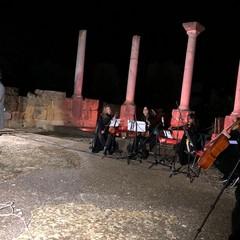 Il cantautore Francesco Allegro a San Leucio . Canosa di Puglia