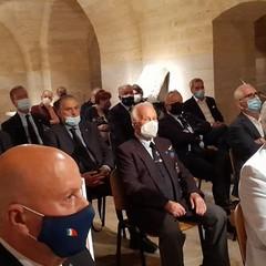 il Generale Pasquale Preziosa al Museo dei Vescovi  Canosa