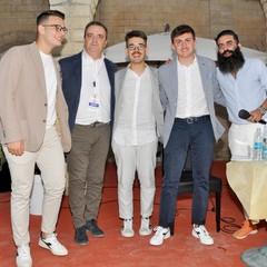 M.Lenoci, N. Sciannamea e G. Bucci,Andrea Pugliese e Riccardo Zagaria