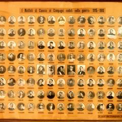 Quadro dei 120 canosini Caduti della Grande Guerra