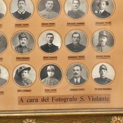 Canosa Quadro Caduti in Guerra 1915-18 - Saverio Violante