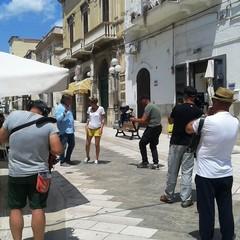 Riprese  Linea Verde Estate RAI 1 a Canosa di Puglia