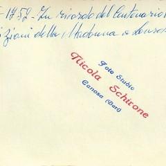 Canosa: Ritrovata la memoria della «Madonnina»