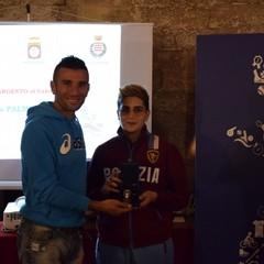 2019 CONI Mimmo Ricatti e Lucia Palmitessa a  Barletta