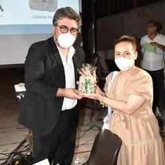 Ristoceutica il professor Vincenzo Lionetti con Carla Carbone a Canosa